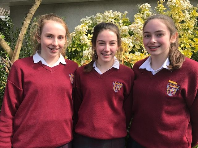 U15 All Ireland Badminton players
