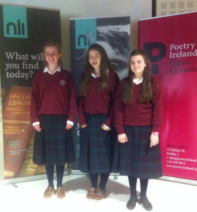 Poetry Aloud Semi-Finalists 2