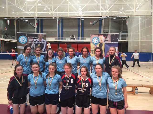 2nd Year Volleyball - All Ireland runners up 2017